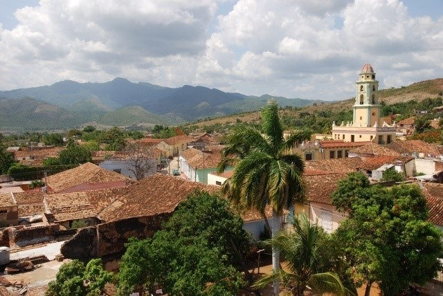 Trinidad, Cuba, birthplace of Margarita Engle's mother