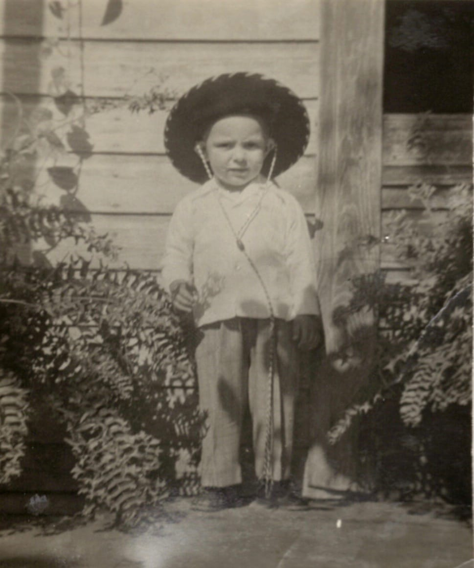 Carlos as a child in Cuba