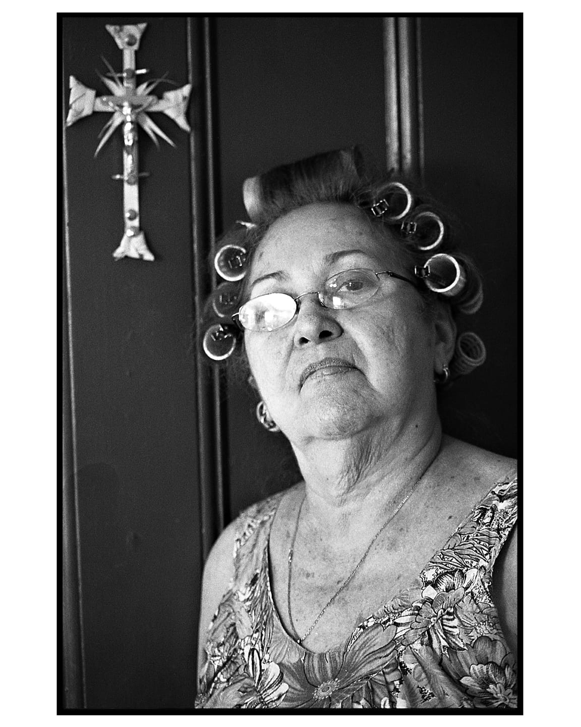 A portrait of Carlina Zayas, my mother.